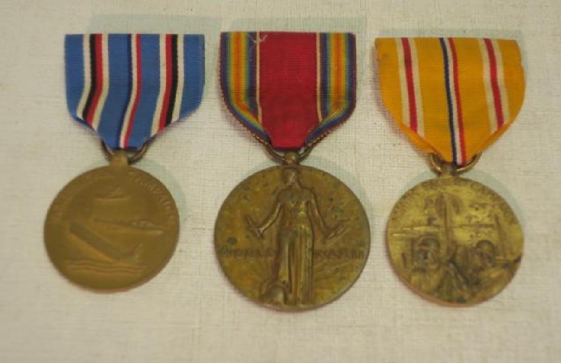 Four Medals, US World War II Set: - 2