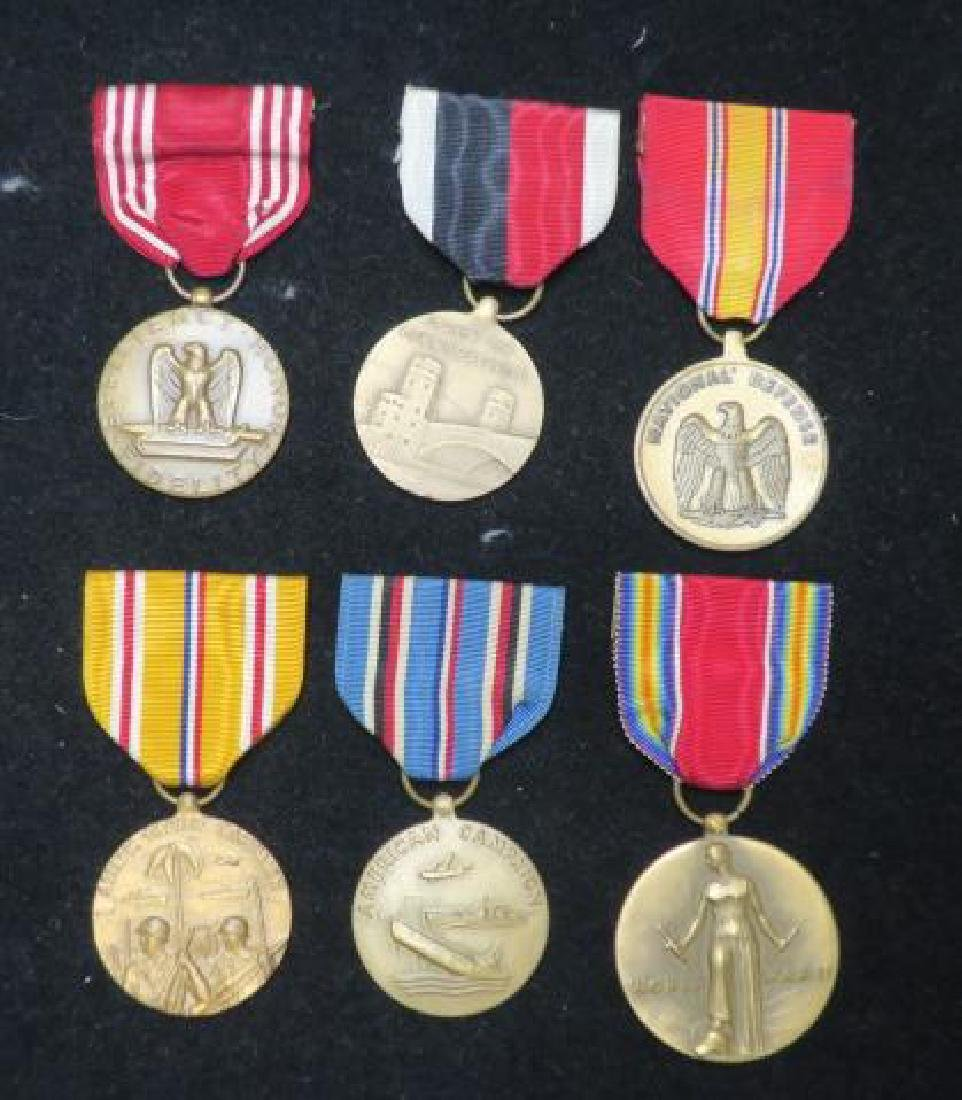 US Army World War II Six Medal Set: