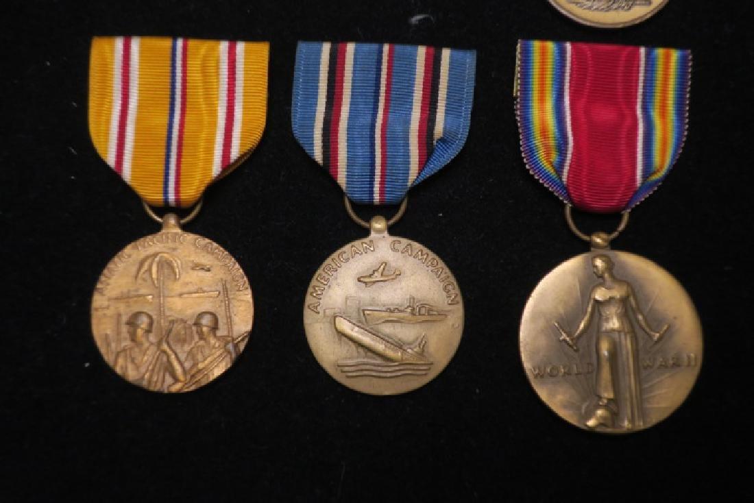 US Army World War II Six Medal Set: - 2