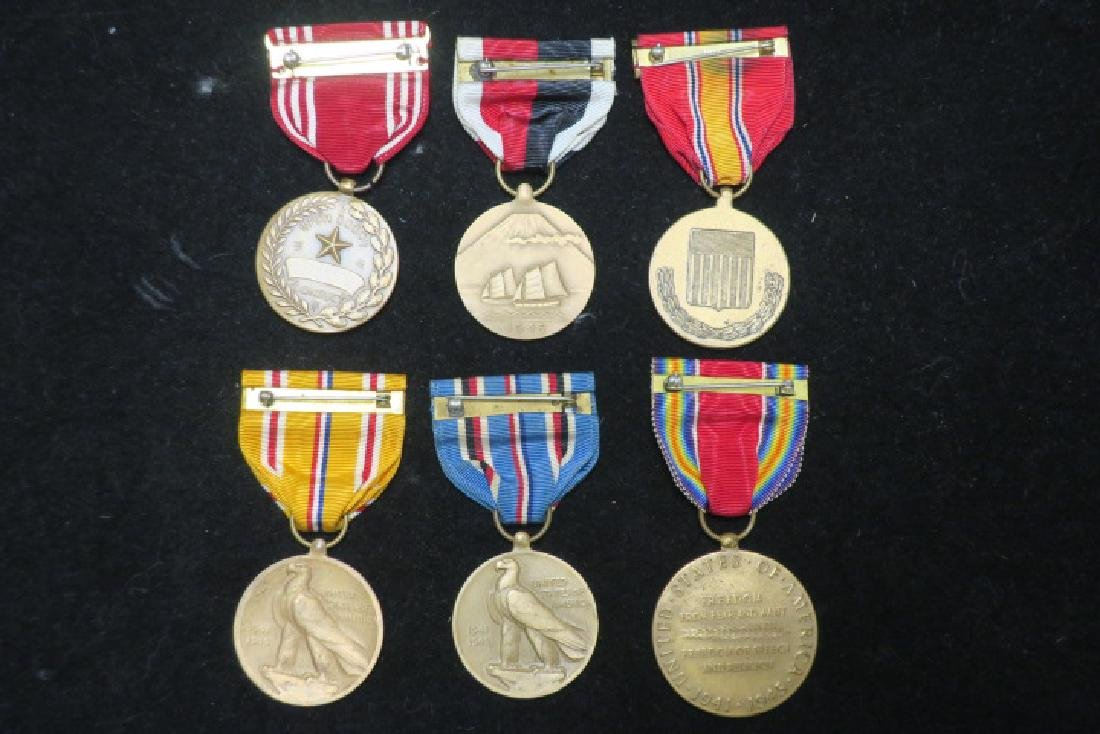 US Army World War II Six Medal Set: - 3
