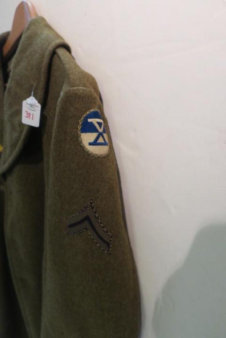 World War II Era US ARMY Overcoat: - 2