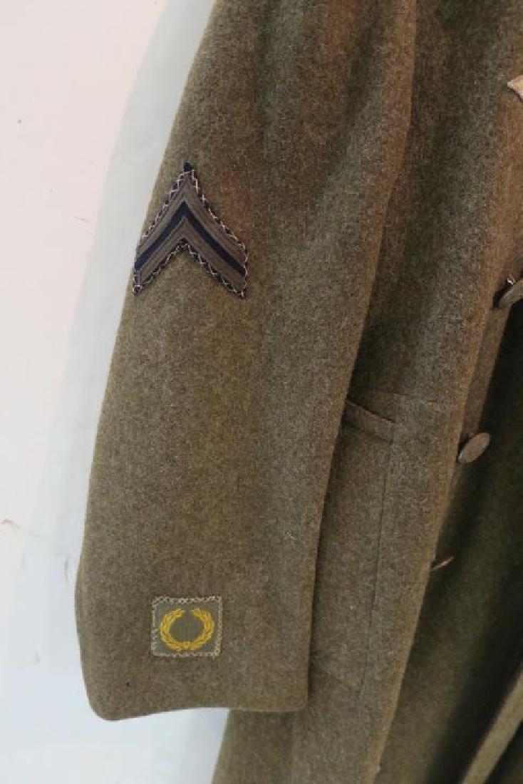 World War II Era US ARMY Overcoat: - 3