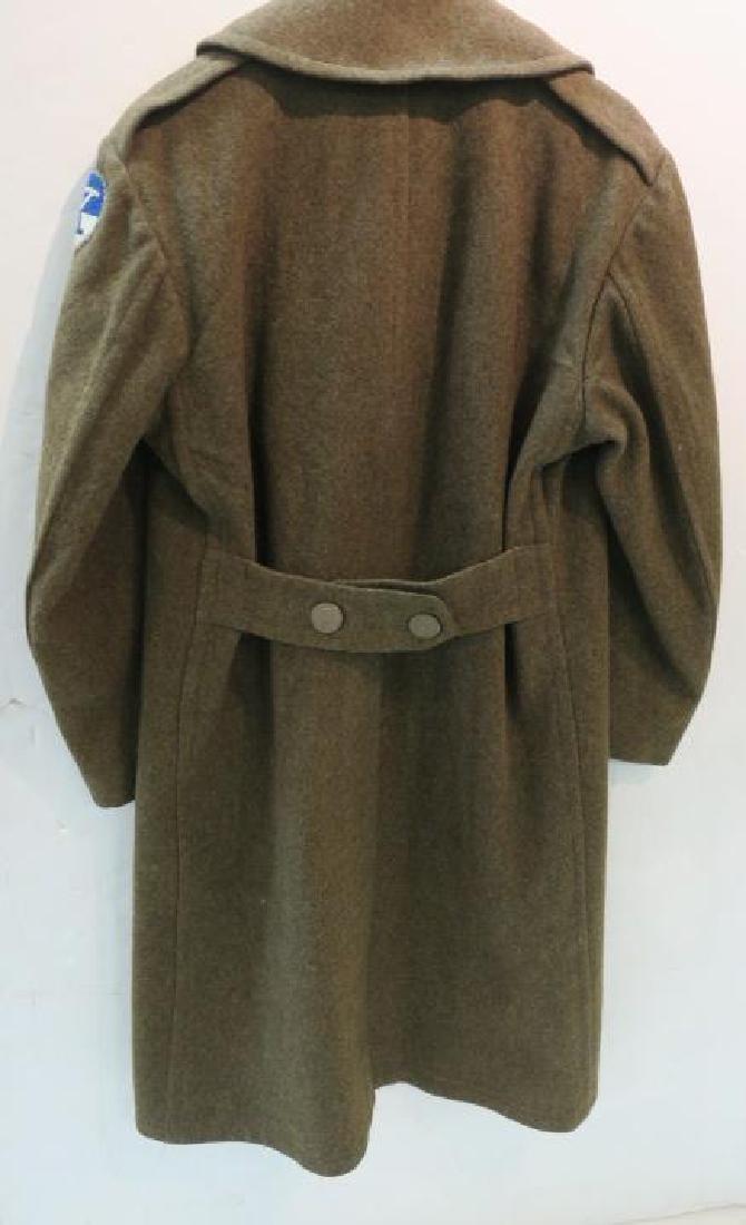 World War II Era US ARMY Overcoat: - 4