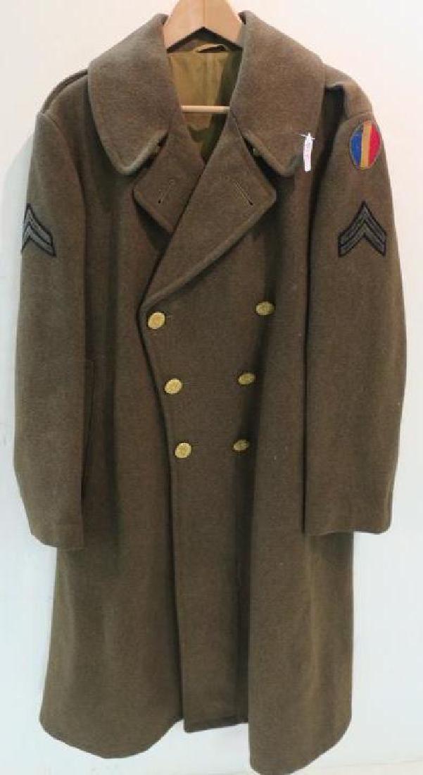 WORLD War II Era US ARMY Overcoat:
