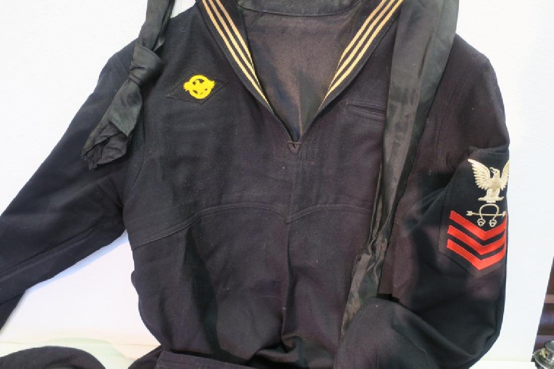 "Complete US Navy Dress Blue ""Cracker Jack"" Uniform: - 2"