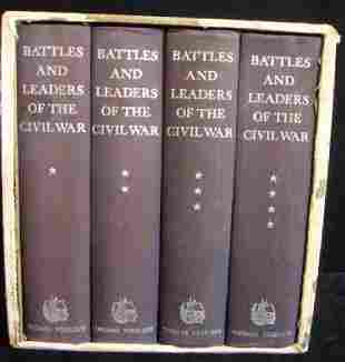 BATTLE AND LEADERS OF THE CIVIL WAR 1956 YOSELOFF