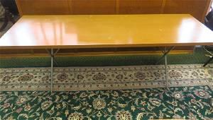 GEORGE NELSON X Leg Table For HERMAN MILLER: