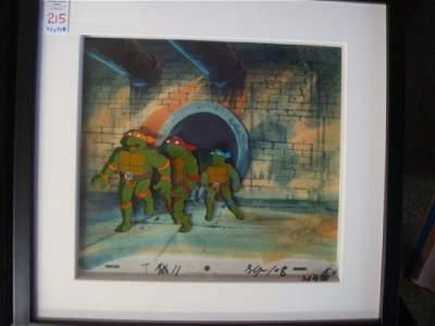 Hand-painted Movie Cell, TEENAGE MUTANT NINJA TURTLES:
