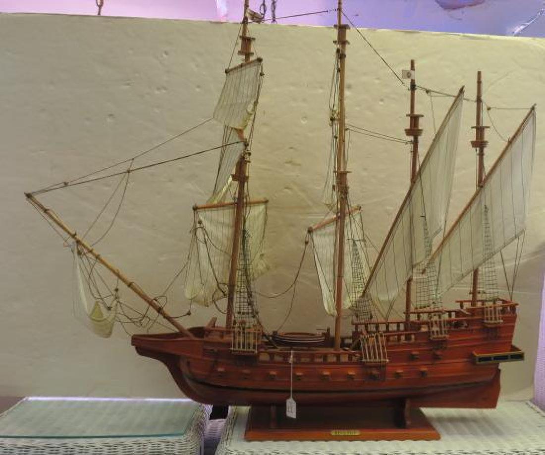 Wooden Ship Model Frances Drake's REVENGE: