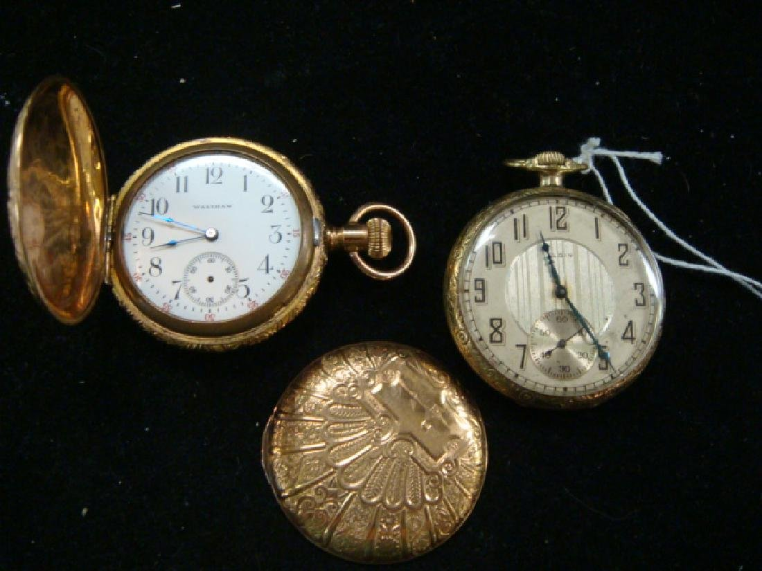 ELGIN and WALTHAM Pocket Watches: