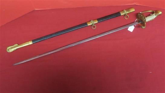 US NAVAL OFFICERS SWORD, Model 1852: