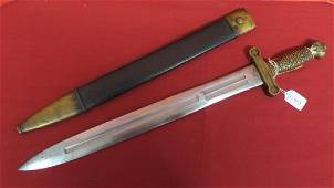 Model 1832 US FOOT ARTILLERY SWORD; N.P. AMES, 1839: