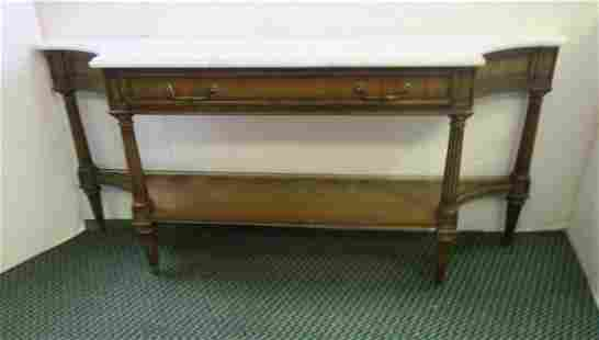WEIMAN Marble Top Sofa or Entryway Table