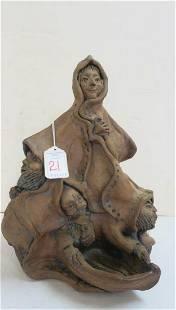 JACK MIDDOUR Contemporary Art Pottery Figure