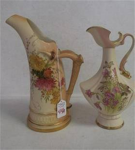 ROYAL WORCESTER Pitcher and Ewer