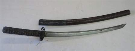 Japanese WAKIZASHI Samurai Sword: