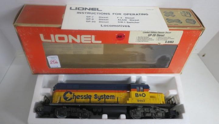 LIONEL 6-8463 CHESSIE GP-20 DIESEL B & O: