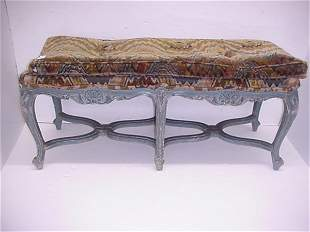 Two Antique French Window Benches