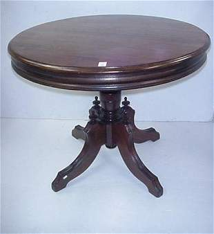 Walnut Victorian Renaissance Revival Table