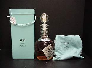1776 Seagram Decanter Made For Tiffany & Co.