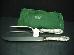 Towle Grand Duchess Sterling Carving Set