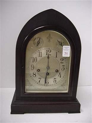 Seth Thomas Mahogany Beehive Shelf Clock