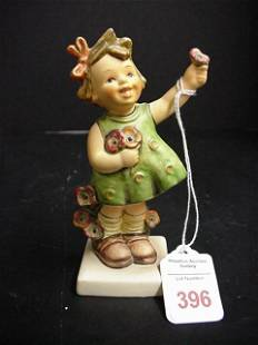 Hummel Figurine Number 72, Spring Cheer