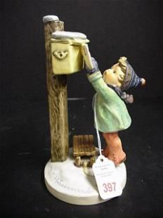 Hummel Figurine Letter to Santa, Number 340