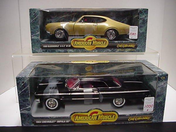 1000: Olsmobile 442 & Chevy Impala: