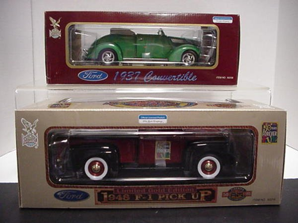 1001: 37 ford convert and F-1 Pickup: