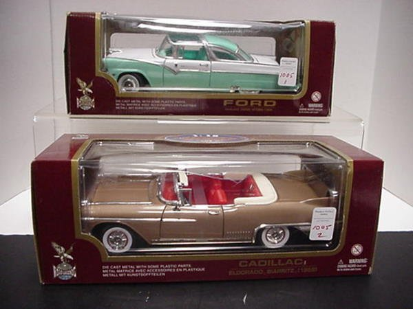 1005: 55 Ford Fairlane and 59 Cadillac:
