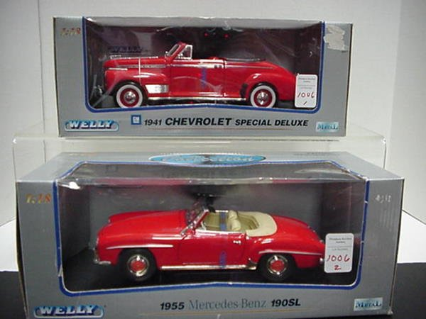 1006: Mercedes Benz and Chevy Deluxe:
