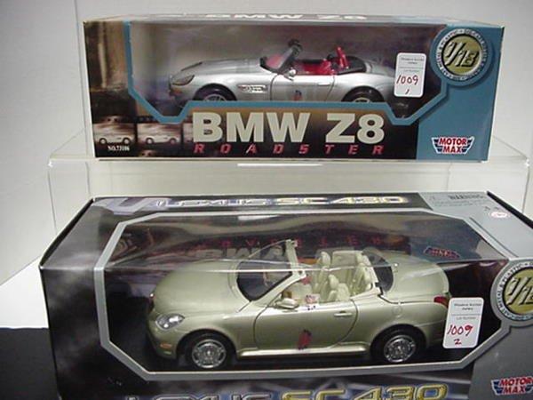 1009: BMW Z8 roadster and Lexus SC430: