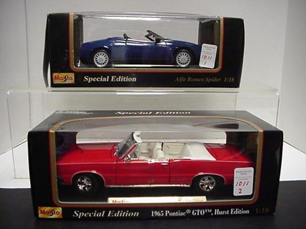 1011: 65 Pontiac GTO and Alfa Spider: