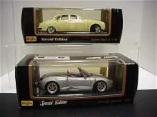 1017: 59 Jaguar MK II and Porsche Boxster: