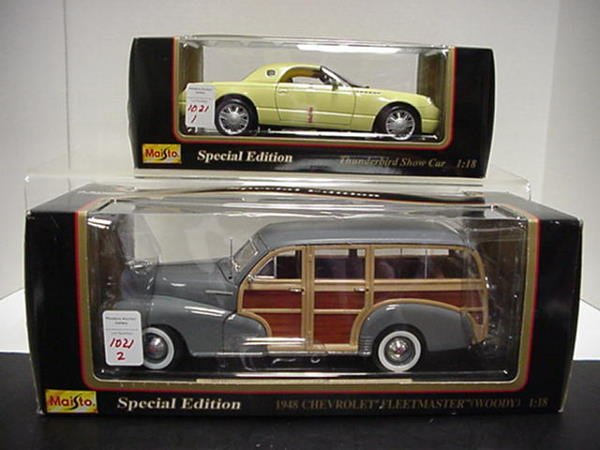 1021: Chevy Fleetmaster and Ford Thunderbird: