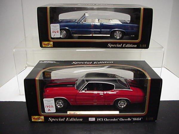 1022: Pontiac GTO and Chevy Chevelle SS454: