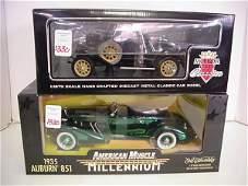 1330: 2 Diecast Metal 1:18 Scale Model Cars: