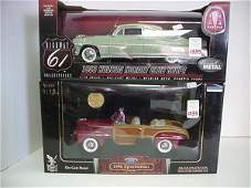 1335: 2 Diecast Metal 1:18 Scale Model Cars: