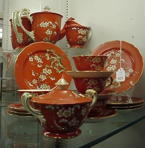 422: 20 Piece Noritake China and Serving Pieces: