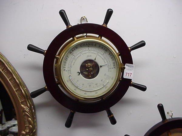 717: Schatz Holosteric Compensated Barometer: