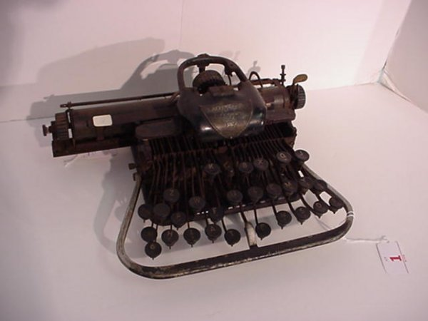 1: BLICKENSDERFER Model 7 Portable Typewriter: