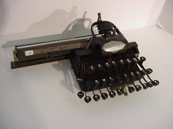 2: BLICKENDERFER Model 5 Portable Typewriter: