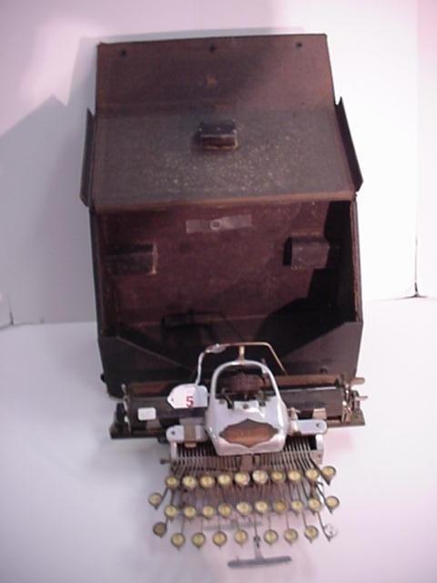 5: BLICKENSDERFER Model 6 Portable Typewriter: