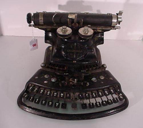 8: CRANDALL New Model Desk Typewriter