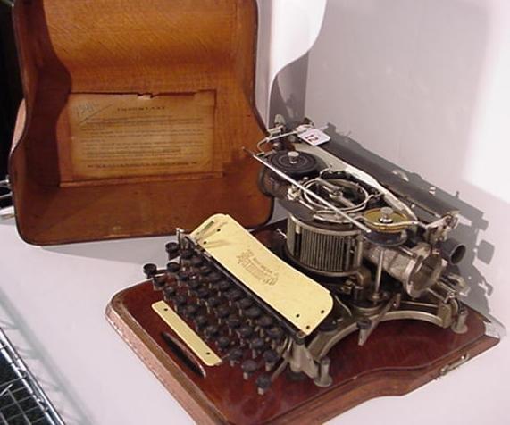 12: HAMMOND Multiplex Antique Typewriter