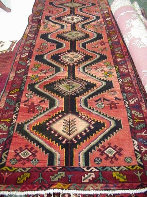 422: Handloomed All Wool Persian Runner: