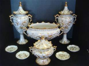 ARDALT Lenwile Gold on White China Pieces: