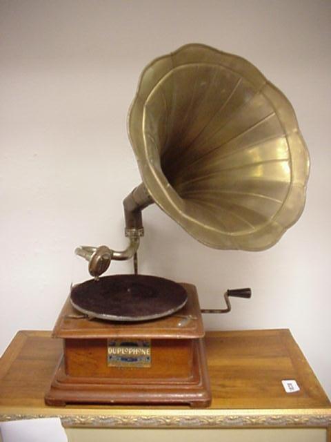 1: DUPLOPHONE JANSONS English Gramophone: