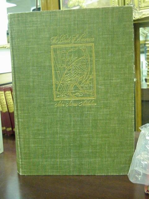 1262: John James Audubon 1937 Birds of America Book: